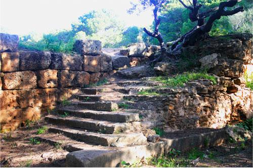 Escalier du Forum